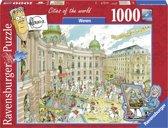Ravensburger puzzel Fleroux Wenen - legpuzzel - 1000 stukjes