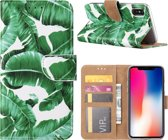 Bladeren Boekmodel Hoesje iPhone XS / X