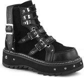 Demonia Enkellaars -39 Shoes- LILITH-278 Zwart