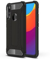 Teleplus Huawei Y9 Prime 2019 Case Double Layer Tank Cover Black hoesje