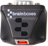 Brainboxes US-320 RS-422/485 USB Zwart kabeladapter/verloopstukje