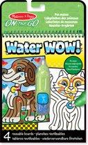 Melissa & Doug Water Wow! Herbruikbare Waterverf Huisdieren