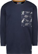 NOP Jongens T-shirt Vallie - Royal Blue - Maat 116