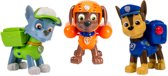 PAW Patrol Actie Pups Rocky, Zuma & Chase - Speelset