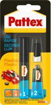 Pattex Secondelijm Plastics Plasticlijm- 2 g