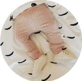 Babycity broek ruit roze maat 92