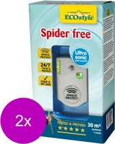 Ecostyle Spider Free 30 - Insectenbestrijding - 2 x 30 m2