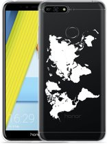 Honor 7A Hoesje World Map