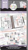 Me and My Big Idea's - Happy Planner Sticker Value Pack - Free Spirit - 813Pieces