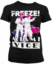 Miami Vice Freeze t-shirt dames L