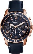 Fossil Rosékleurig Mannen Horloge FS5237