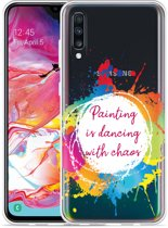 Galaxy A70 Hoesje Painting