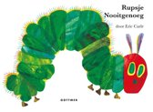 Boek cover Rupsje Nooitgenoeg - Reuzen-kartonboek van Eric Carle