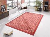Modern vloerkleed ruiten Tile - 80x150 cm