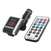 LogiLink FM0001A FM transmitter - Zwart/Wit