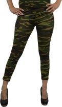 Camouflage legging voor dames 36/38 (s/m)