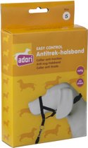 Adori Easy Control Antitrekhalsband Zwart 44 cm