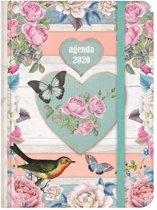Hobbit agenda soft pocket A6 brocante D2 jaaragenda 2020 (klein formaat A6)