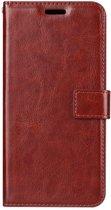 OnePlus 7 Pro - Bookcase Bruin - portemonee hoesje