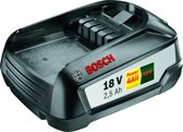 Bosch Lithium-Ion accu / batterij - 18 Volt - 2,5 Ah - Cordless family concept - exclusief oplader