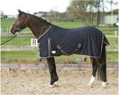 Harry's Horse Zomerdeken Honeycomb 205cm navy