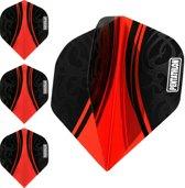 ABC Darts Flights Pentathlon - Tribal rood - 10 sets