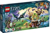 LEGO Elves Vleermuisaanval bij de Elvenstar Boom - 41196