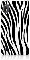 Samsung Galaxy A10 Hoesje maken Zebra