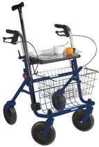 Rollator Quatro - Blauw- opvouwbaar - 10,2 kg