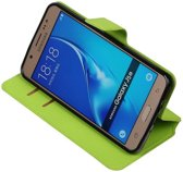 BestCases.nl Groen Samsung Galaxy J5 2016 TPU wallet case booktype hoesje HM Book