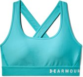 Under Armour Armour Mid Crossback Bra Dames Sport BH - Breathtaking Blue - Maat L