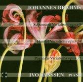 Schumann, Handel & Paganinini Variations
