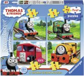Ravensburger Thomas & Friends My first puzzels -2+3+4+5 stukjes - kinderpuzzel