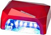 36W LED Nageldroger - rood