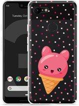 Google Pixel 3 XL Hoesje Ice cone