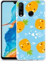 Huawei P30 Lite Hoesje Love Ananas