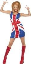 Engelse vlag  jurkje 44-46 (l)