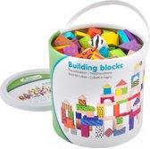 New Classic Toys - Bouwblokken in Ton - Fantasie - 100 blokken