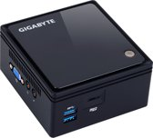 Gigabyte GB-BACE-3000 PC/workstation barebone BGA 1170 1,04 GHz N3000 Nettop Zwart