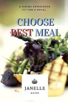 Choose Best Meal: Track And Plan Your Meals Weekly Using 52 Weeks Meal Planner And Recipe Template Paper, Plan To Eat Healthy And Plan A