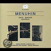 Menuhin plays works By J.S. Bach, Wagner, Locatelli