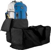 Flightbag voor backpack - tot 55 liter - zwart