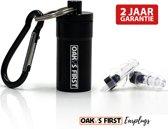Oak's First Oorpluggen 20 dB filter | Gehoorbescherming, voorkom gehoorbeschadiging  | ideaal voor festivals, concerten en motorrijden |