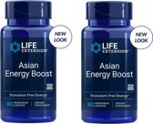 Asian Energy Boost, 90 Vegetarian Capsules, 2-pack