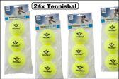 24x Tennisballen Angel Sports