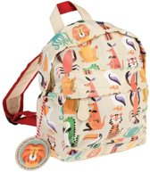 Rex London Mini Kinderrugzak 10 liter - Colourful Creatures