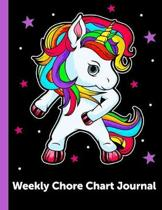 Weekly Chore Chart Journal: Daily and Weekly Responsibility Tracker for Kids