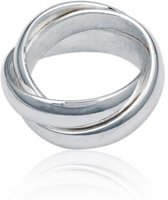 Classics&More Zilveren Ring - Maat 56 - 5 mm - Cartier