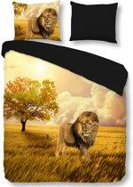 Pure Simba - Dekbedovertrek - Tweepersoons - 200x200/220 cm + 2 kussenslopen 60x70 cm - Multi