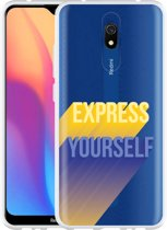 Xiaomi Redmi 8A Hoesje Express Yourself